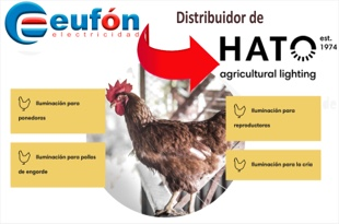 Eufón distibuidor de Hato agricultural lighting Group
