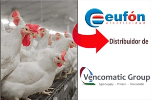 Eufón distibuidor de Vencomatic Group